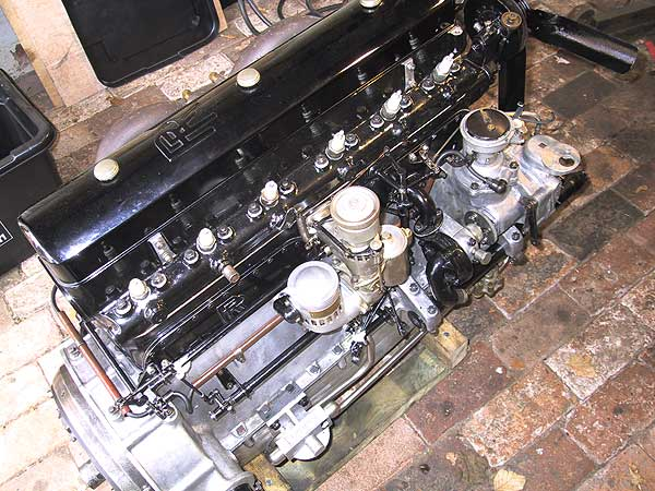 carburettor fitted