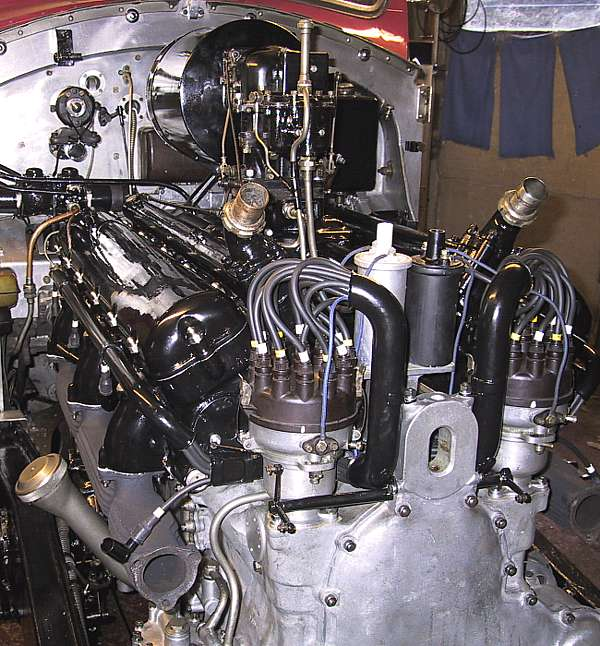 R-R PIII - carburettor on